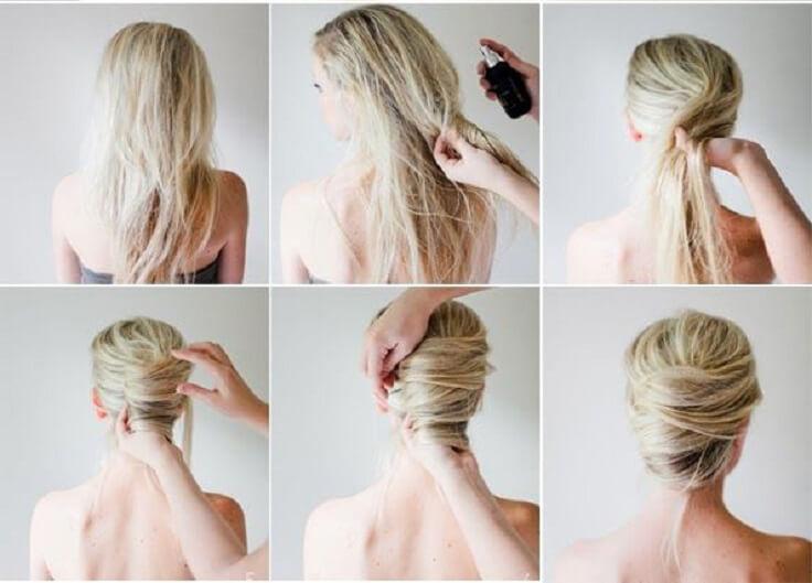 lätta håruppsättningar fest