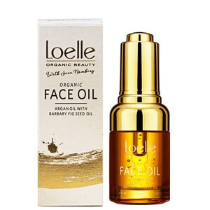 loelle sara nomberg face oil argan oil barbary fig oil kaktusfikon olja arganolja