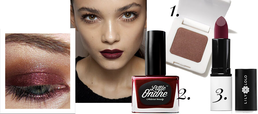 burgundy trend 2017 beauty