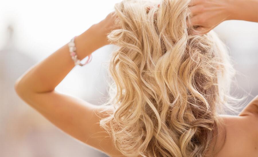 få tjockare hår naturligt