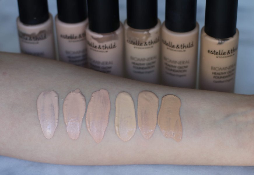 healthyglow_foundation_swatches estelle thild