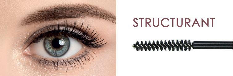 Mascara Structuring and eye