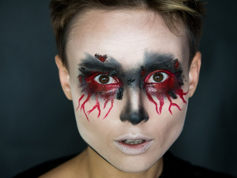 Makeup for Halloween