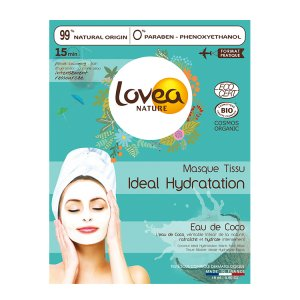 Lovea Moisturizing Coconut Water Sheet Mask
