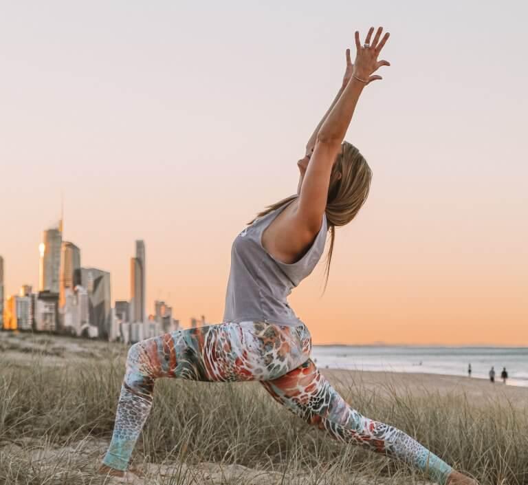 hållbara och ekologiska yogakläder träningskläder