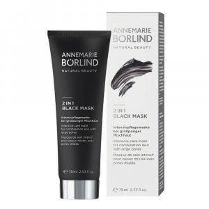 peeling mask för fet hud borlind-black-mask-2-in-1-