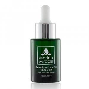 ansiktsolja fet hud marina-miracle-geranium-face-oil-